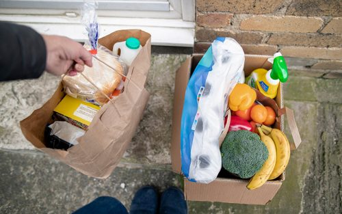 Groceries home delivery services